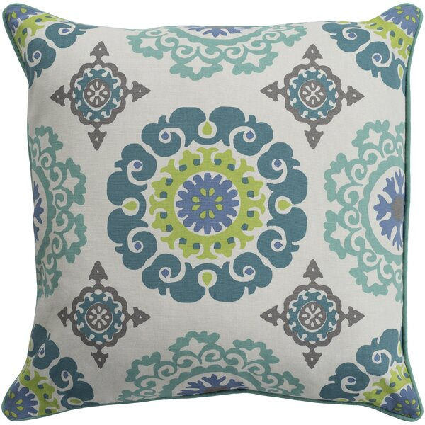 Brierwood 100% Cotton Throw Pillow by Charlton Home